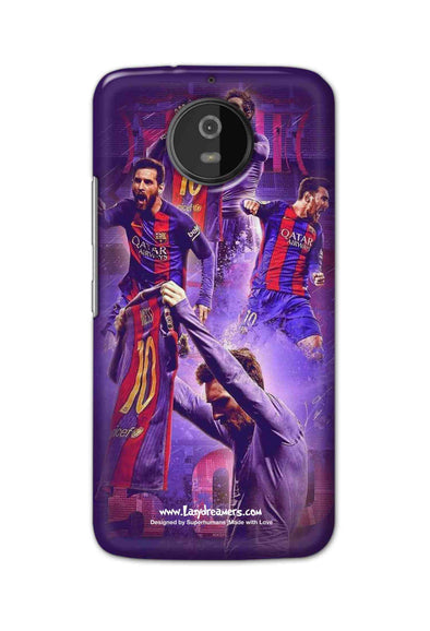 Motorola Moto G5S - Lionel Messi Celebration Collage