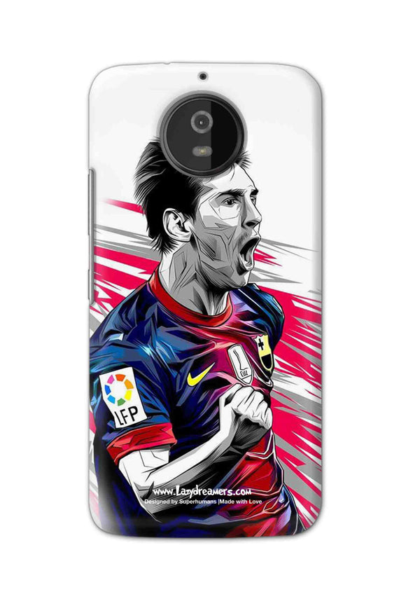 Motorola Moto G5S - Lionel Messi Fan Artwork