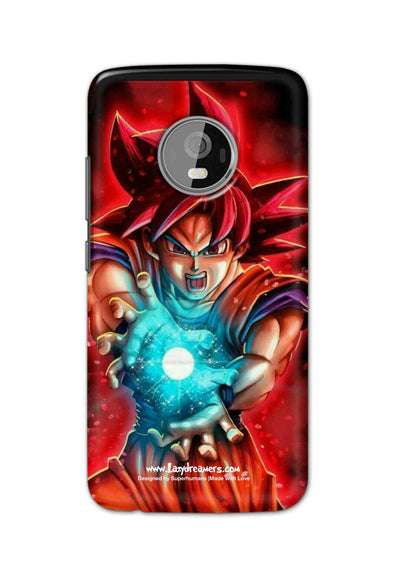 Motorola Moto G5 plus - Dragon Ball Angry Goku