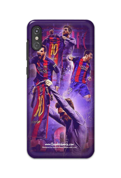 Motorola One Power - Lionel Messi Celebration Collage