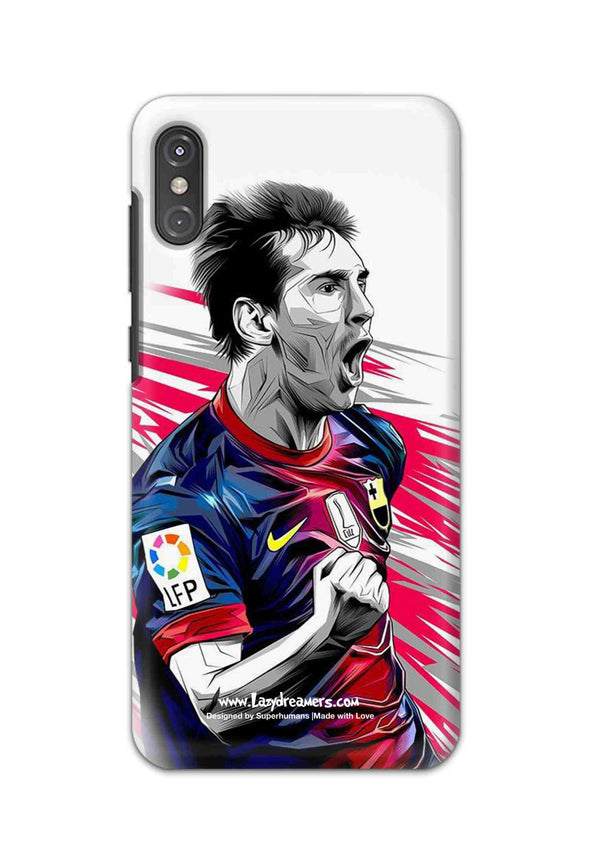 Motorola One Power - Lionel Messi Fan Artwork