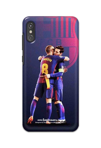 Motorola One Power - Lionel Messi & Iniesta