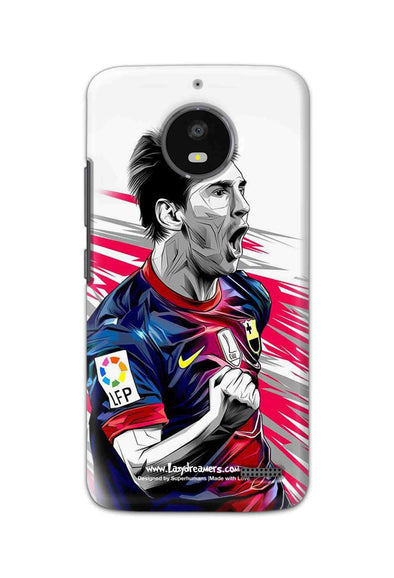 Motorola Moto E4 - Lionel Messi Fan Artwork