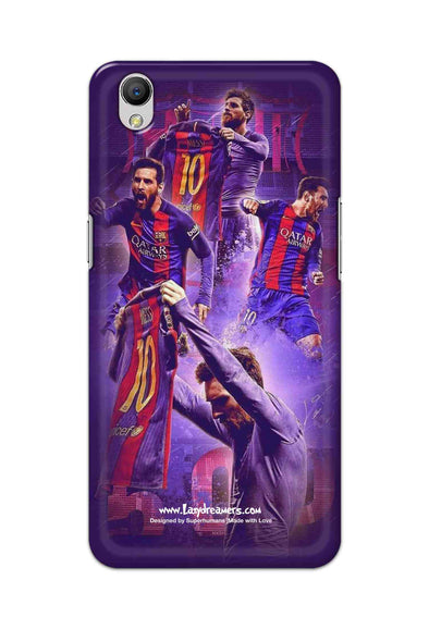 Oppo A37 - Lionel Messi Celebration Collage