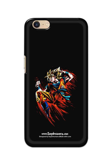Oppo A39 - Dragon Ball Z Goku Illustration
