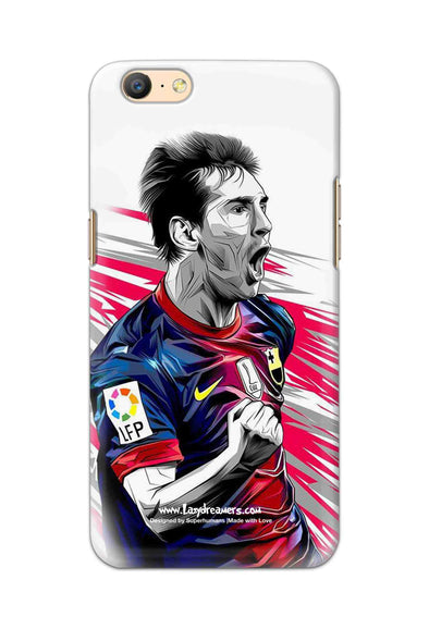 Oppo A57 - Lionel Messi Fan Artwork