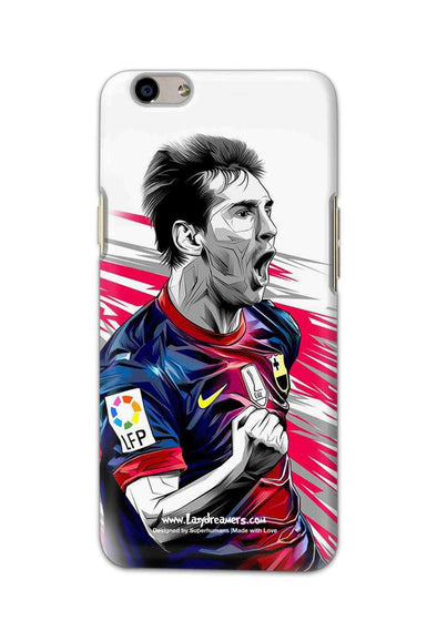 Oppo F1s - Lionel Messi Fan Artwork