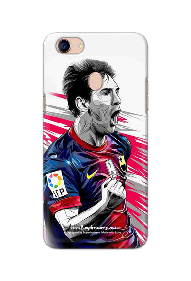 Oppo F5 Youth - Lionel Messi Fan Artwork