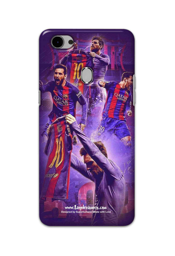 Oppo F7 - Lionel Messi Celebration Collage