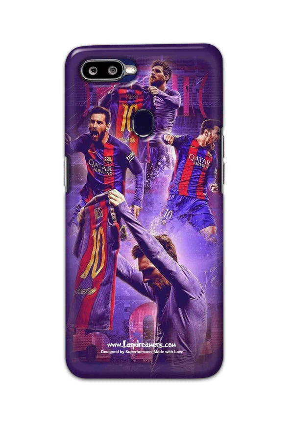 Oppo F9 Pro - Lionel Messi Celebration Collage