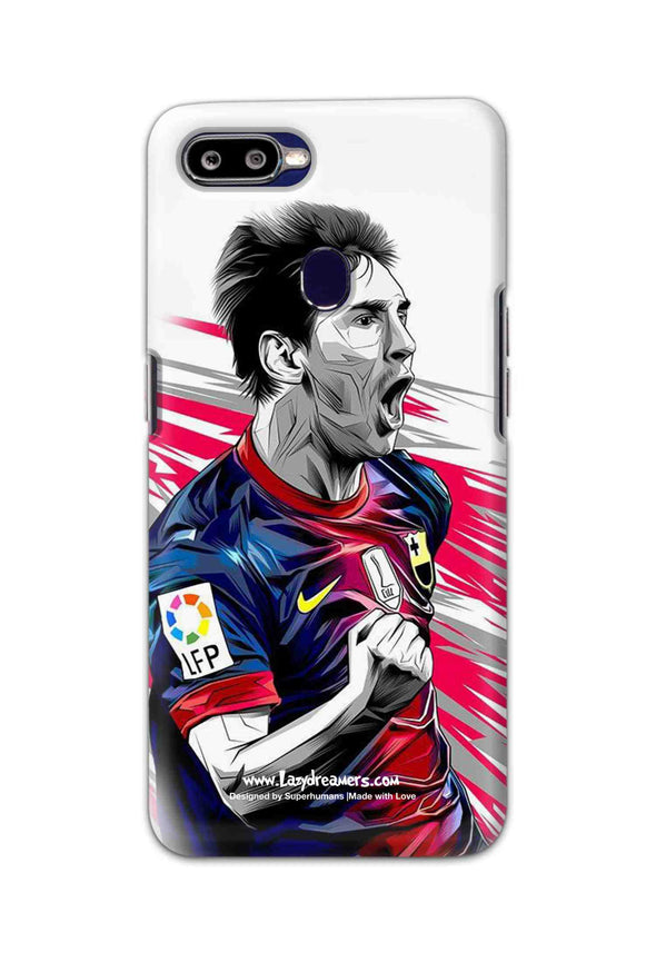 Oppo F9 Pro - Lionel Messi Fan Artwork