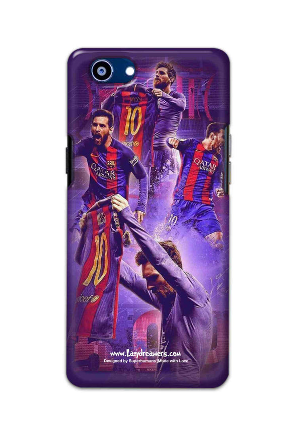 Oppo Realme 1 - Lionel Messi Celebration Collage