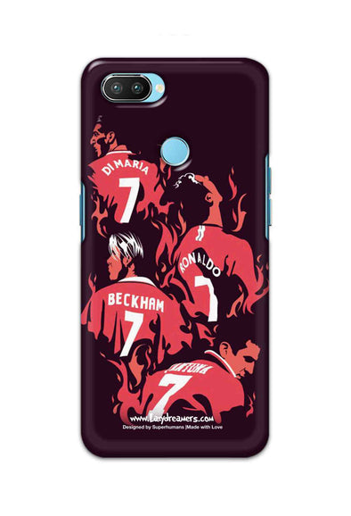Oppo Realme 2 Pro - Manchester United No.7 Legends
