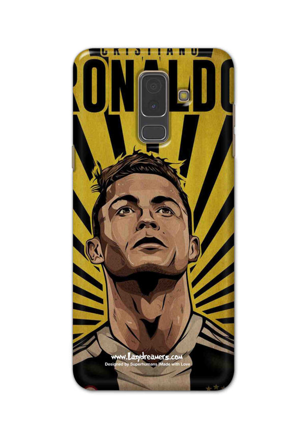 Samsung A6 Plus - Cristiano Ronaldo Juventus Fan Artwork