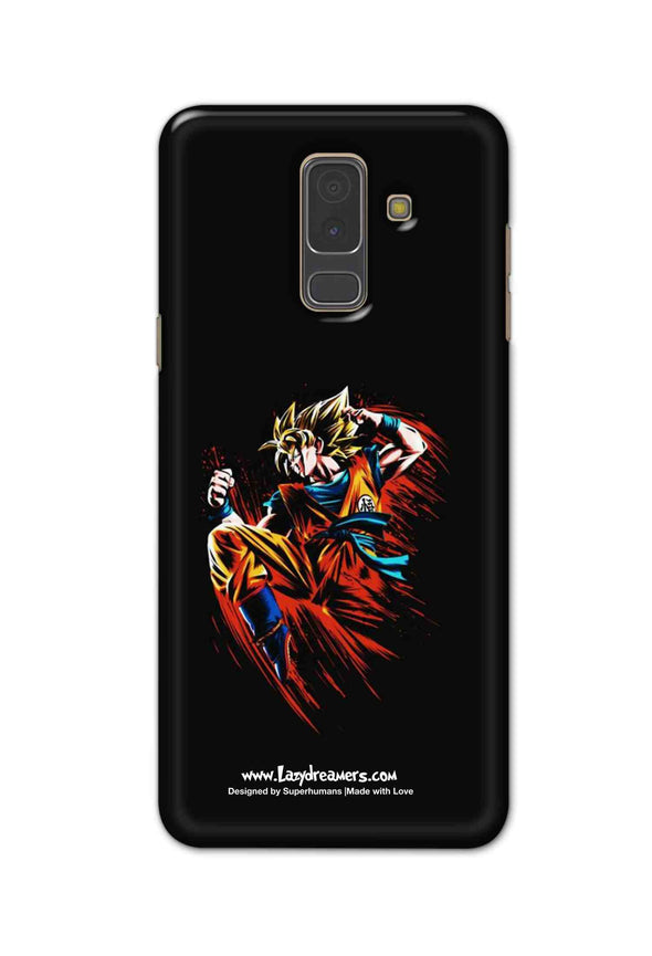Samsung A6 Plus - Dragon Ball Z Goku Illustration