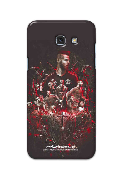 Samsung Galaxy A7 2017 - The Red Devils