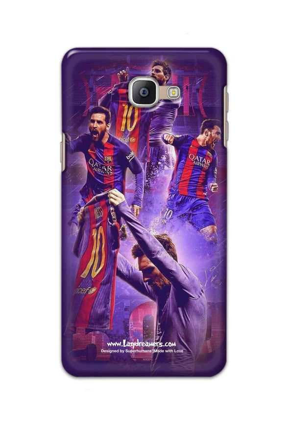 Samsung Galaxy A8 Plus 2018 - Lionel Messi Celebration Collage