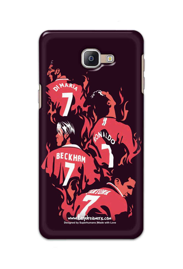 Samsung Galaxy A8 Plus 2018 - Manchester United No.7 Legends