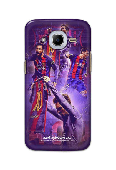 Samsung Galaxy J2 2016 - Lionel Messi Celebration Collage