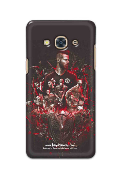 Samsung Galaxy J3 Pro - The Red Devils