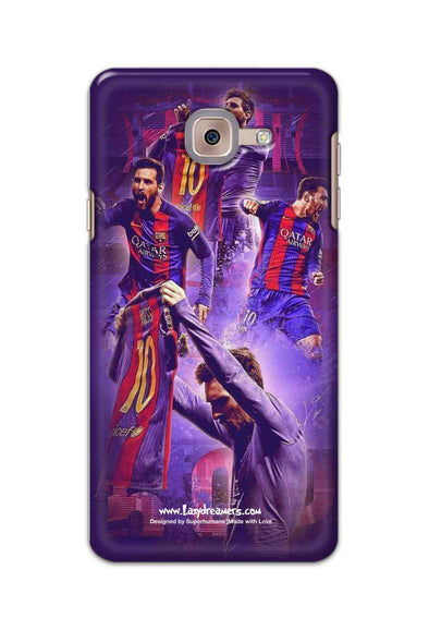 Samsung Galaxy J7 Max - Lionel Messi Celebration Collage