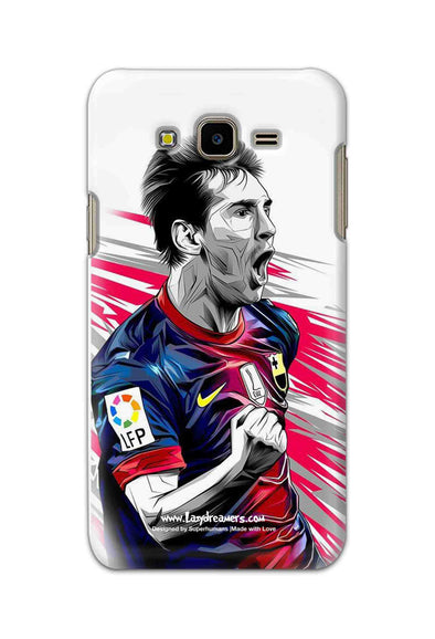 Samsung Galaxy J7 Nxt - Lionel Messi Fan Artwork