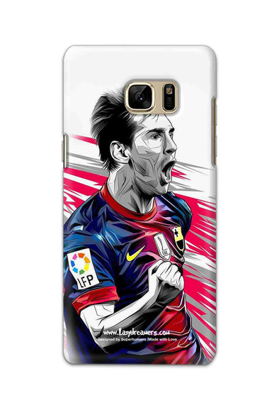 Samsung Galaxy Note7 - Lionel Messi Fan Artwork