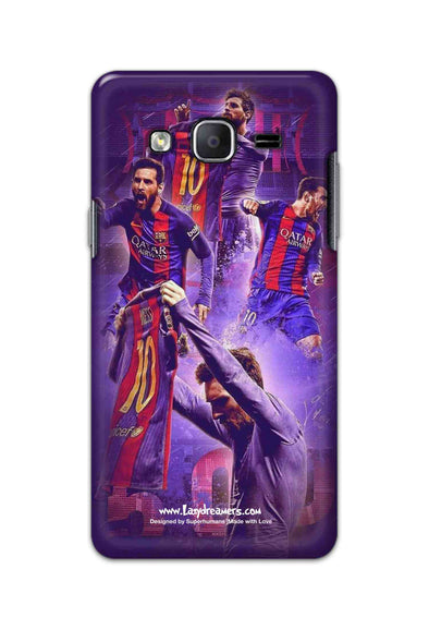 Samsung Galaxy On5 Pro - Lionel Messi Celebration Collage
