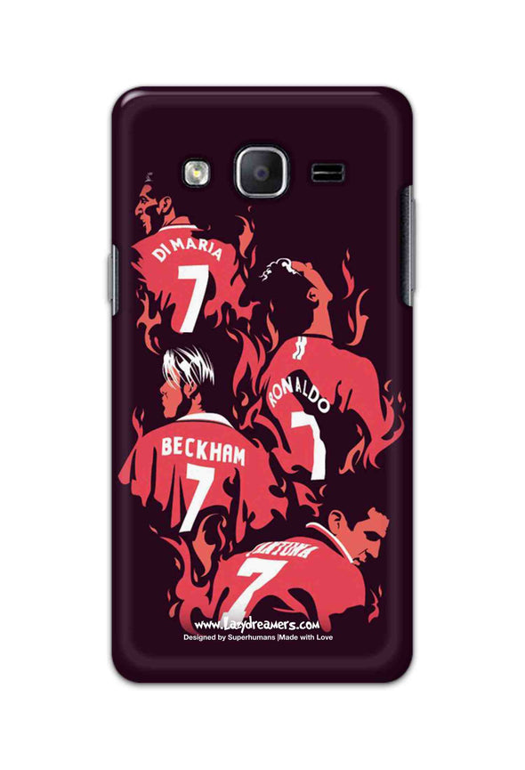 Samsung Galaxy On5 Pro - Manchester United No.7 Legends