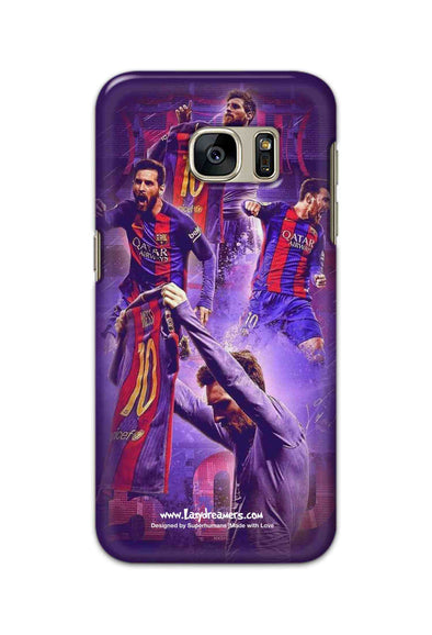 Samsung Galaxy S7 - Lionel Messi Celebration Collage