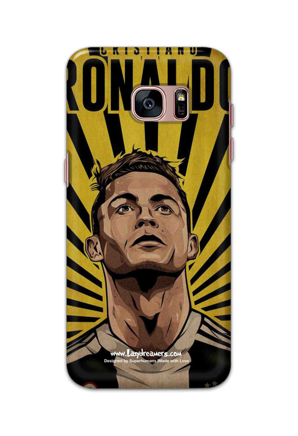 Samsung Galaxy S7 edge - Cristiano Ronaldo Juventus Fan Artwork