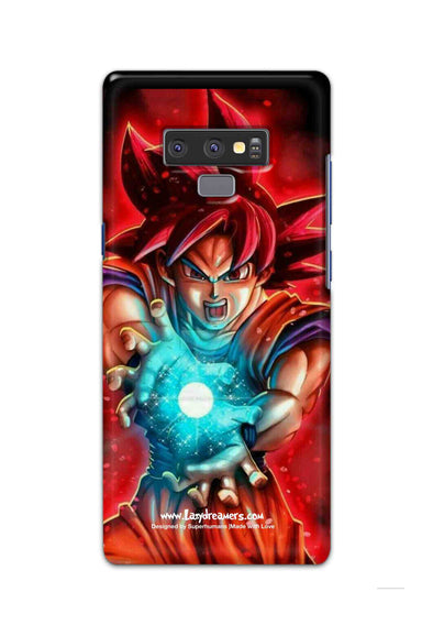 Samsung Note 9 - Dragon Ball Angry Goku