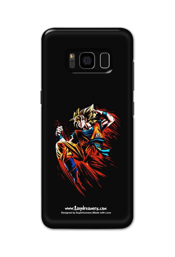 Samsung S8 - Dragon Ball Z Goku Illustration