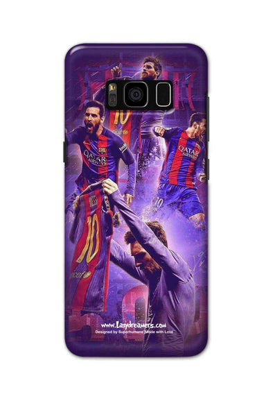 Samsung S8 Plus - Lionel Messi Celebration Collage