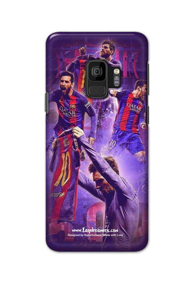 Samsung S9 - Lionel Messi Celebration Collage