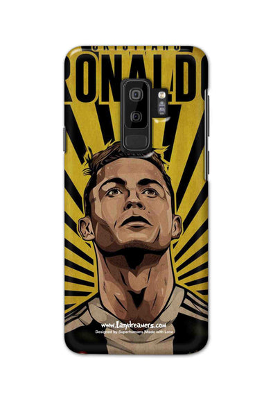 Samsung S9 Plus - Cristiano Ronaldo Juventus Fan Artwork