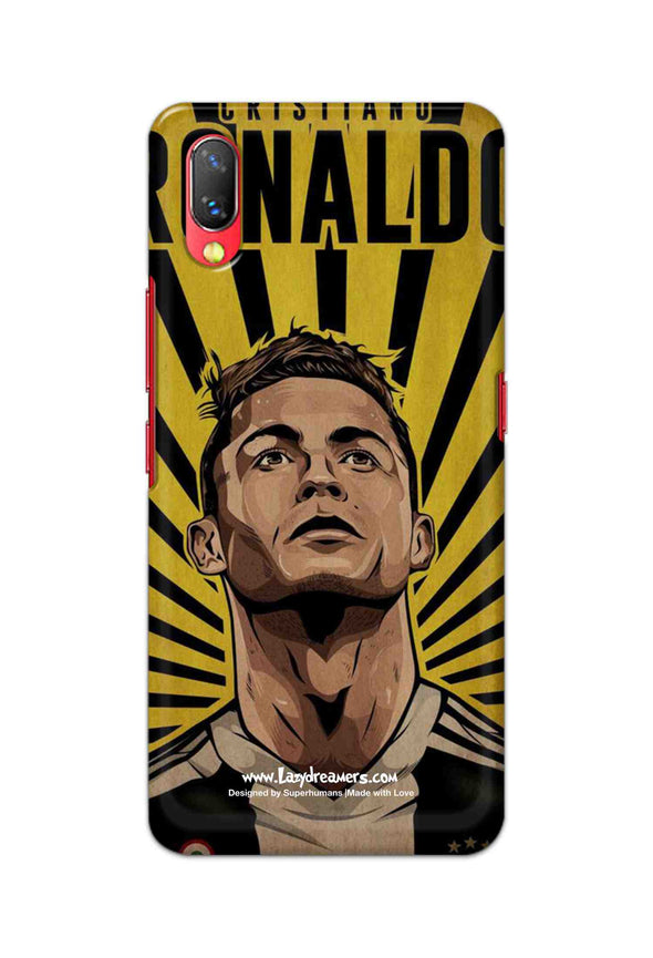 Vivo Nex - Cristiano Ronaldo Juventus Fan Artwork