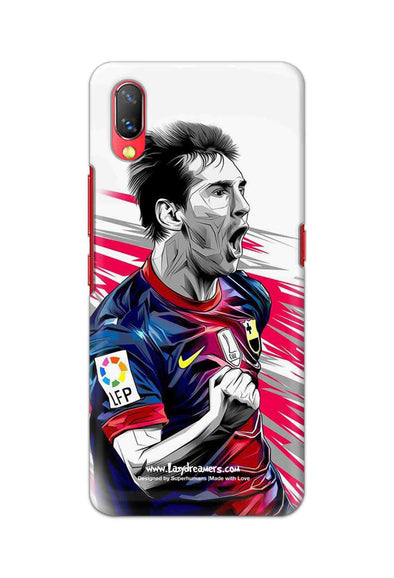 Vivo Nex - Lionel Messi Fan Artwork