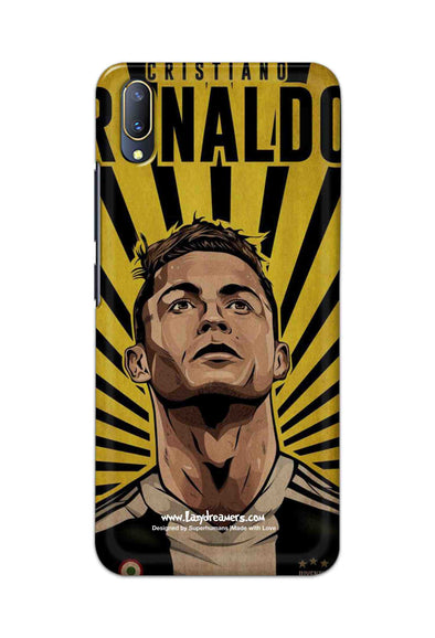 Vivo V11 - Cristiano Ronaldo Juventus Fan Artwork
