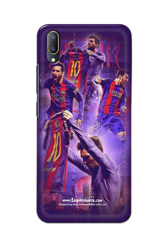 Vivo V11 - Lionel Messi Celebration Collage