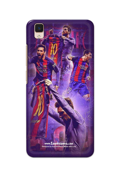 Vivo V3 - Lionel Messi Celebration Collage