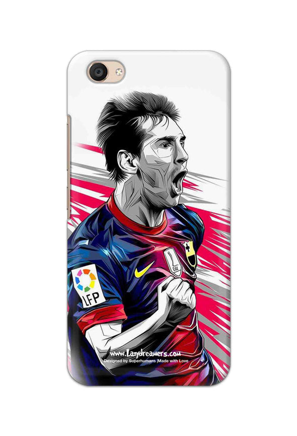 Vivo V5 Plus - Lionel Messi Fan Artwork