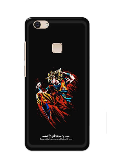 Vivo V7 Plus - Dragon Ball Z Goku Illustration