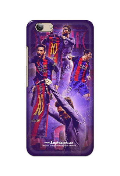 Vivo Y53 - Lionel Messi Celebration Collage