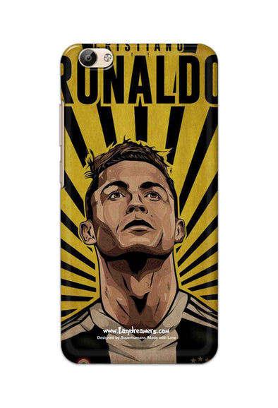 Vivo Y66 - Cristiano Ronaldo Juventus Fan Artwork