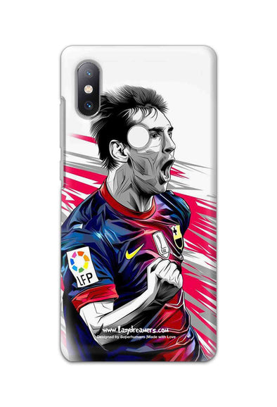 Xiaomi Mi Mix 2S - Lionel Messi Fan Artwork