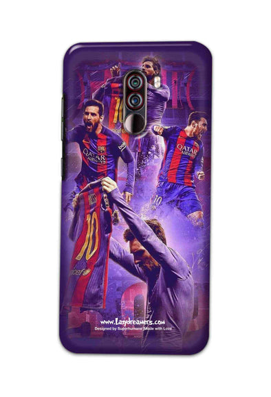 Xiaomi Pocophone F1 - Lionel Messi Celebration Collage