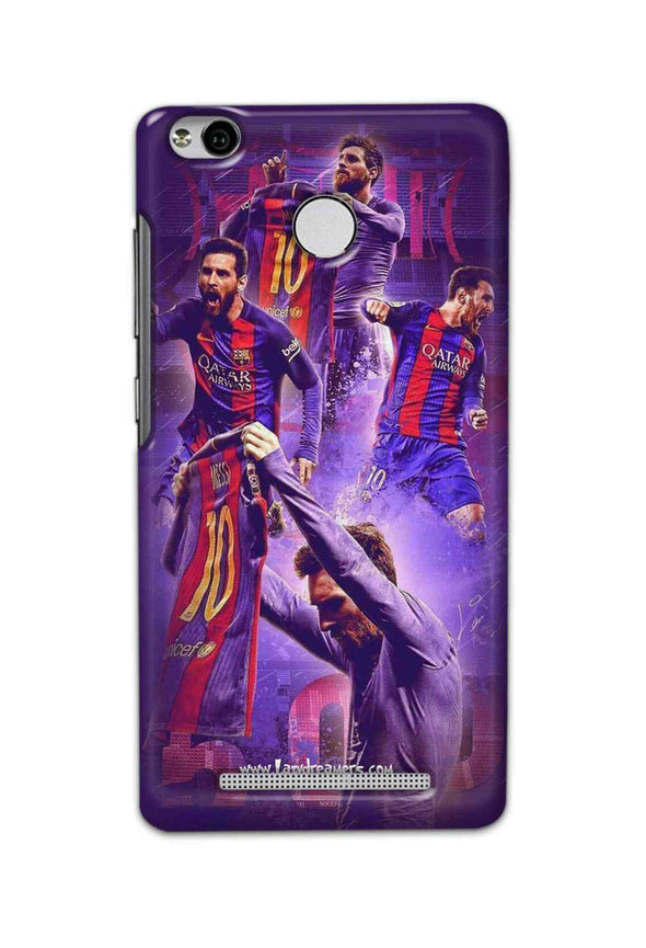Xiaomi Redmi 3s Prime - Lionel Messi Celebration Collage