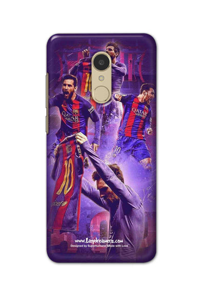 Xiaomi Redmi 5 - Lionel Messi Celebration Collage