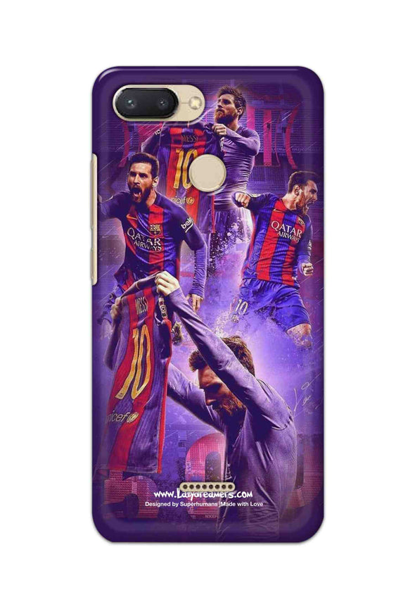 Xiaomi Redmi 6 - Lionel Messi Celebration Collage